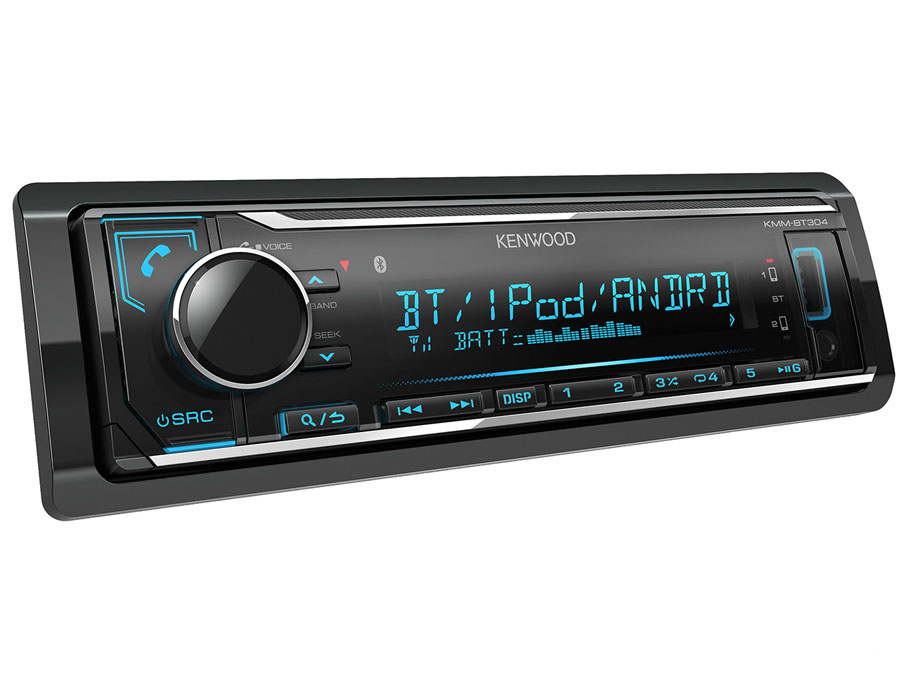 Kenwood KMM-BT304 Digital Media Receiver with Bluetooth