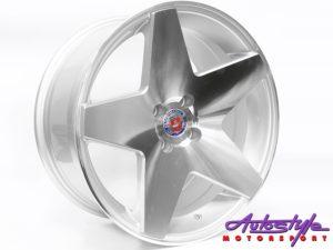 """17"""" Axe Drax-A 4/100 MS Alloy Wheels-0"""