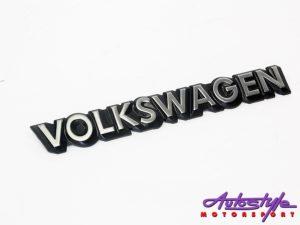 """VW """"Volkswagen"""" Rear Badge-0"""