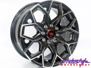 "14"" MM M1917 4/100 & 4/108 BKMF Alloy Wheels-0"