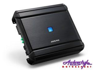 Alpine MRV-V500 4 Channel + Mono Digital V-Power Amplifier-0