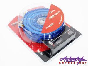 Targa TCK4 Gauge Car Audio Wiring Kit-0
