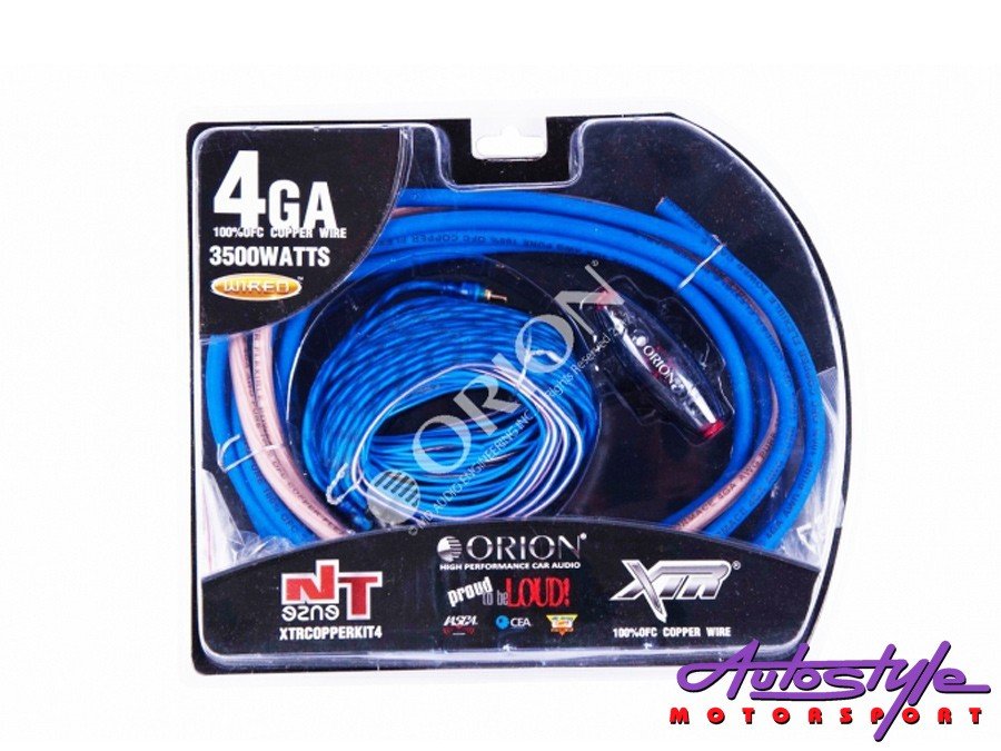 Orion 4gauge 100% OFC Copper Audio Wiring Kit-0