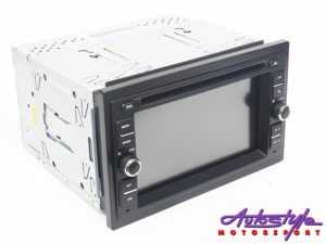 Paramount ZS-6040NBT Double Din with GPS Entertainment Unit-0