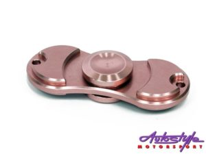 Fidget Spinner Rose Gold Disc Design-0