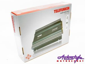 Telefunken 50rms x 4 Channel Amplifier-27985
