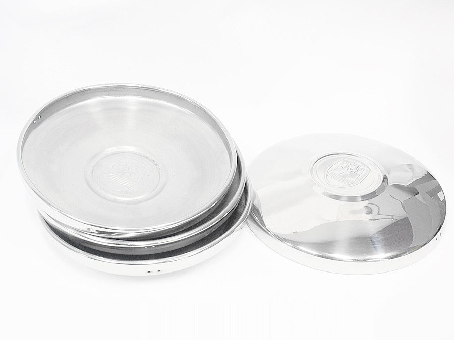 VW Chrome Wolfsburg Hub Cap (set of 4)