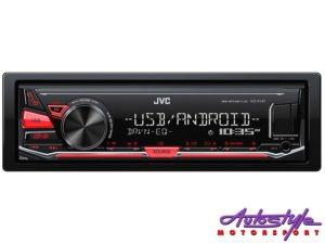 JVC KD-X141 Digital Media Receiver with USB/Aux-0