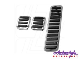 VW Classic Beetle Chrome Pedal Covers (set)-0
