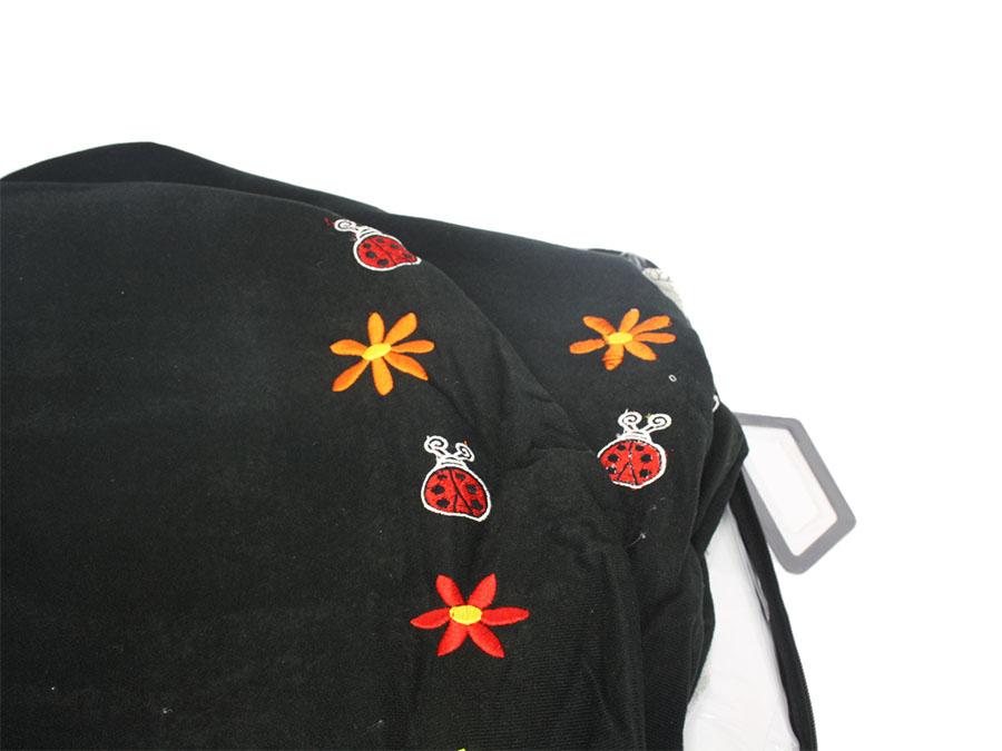 NR Racing Ladybug Black & White Seat Covers
