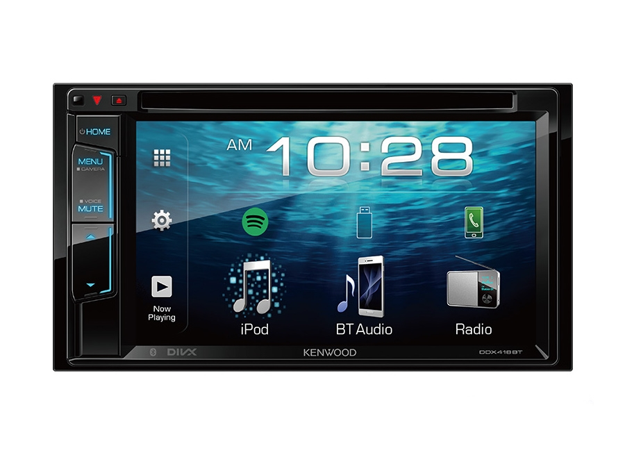 Kenwood DDX-418BTM/NAV Double Din AV Receiver with GPS