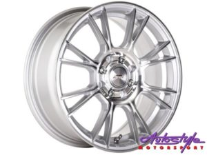 "13"" A-Line Vixen 4/100 & 4/108 SSMF Alloy Wheels-0"