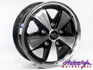 "15"" Evo Porsche Style 5/130 Alloy Wheels-0"