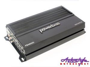 Powerbass PB4800D 5200w 4ch Compact Amplifier-0