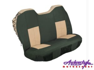 Stingray Mocha/Olive Explorer 2 Front Canvas Seat Covers-0