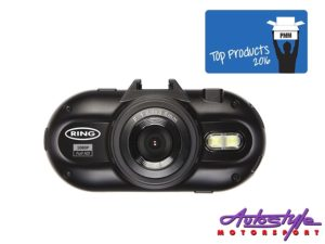 "Ring Automotive 2"" Dash Camera with GPS-0"