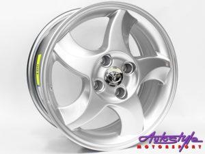 "15"" QS RXI 4/100 HS Alloy Wheels-0"