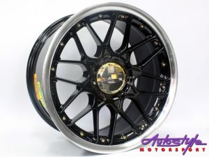 "17"" GR088 5/100 & 5/114 BKML Alloy Wheels-0"