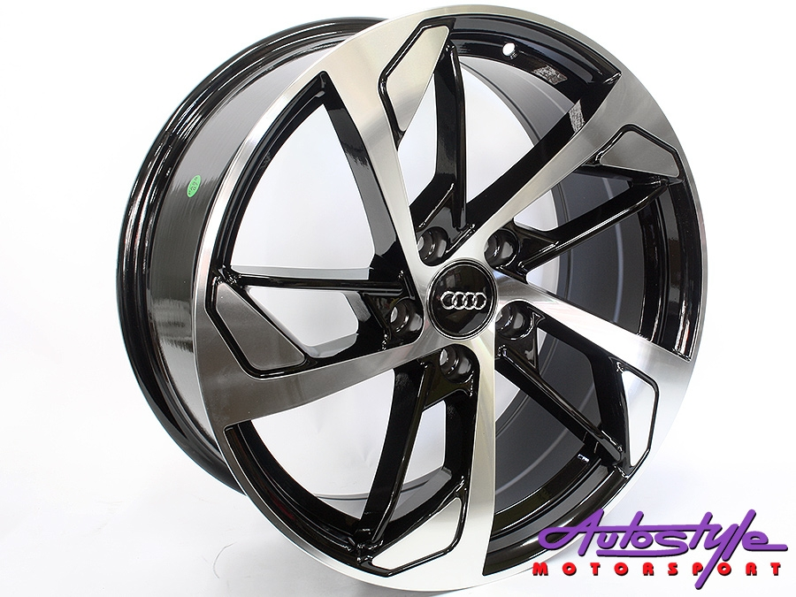 18″ Axe AV-23-C 5/112 BKMF Alloy Wheels