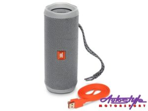 JBL FLIP 4 Grey Portable Waterproof Bluetooth Speaker -0