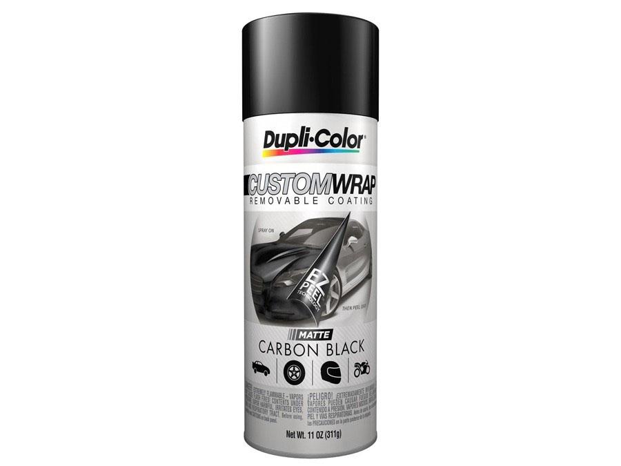 Dupli-Color Custom Wrap Renovating Coating (Carbon Matt Black)