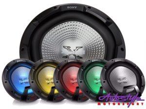 """Sony XS-LEDW12 12"""" 1800w Subwoofer with Illumination-0"""