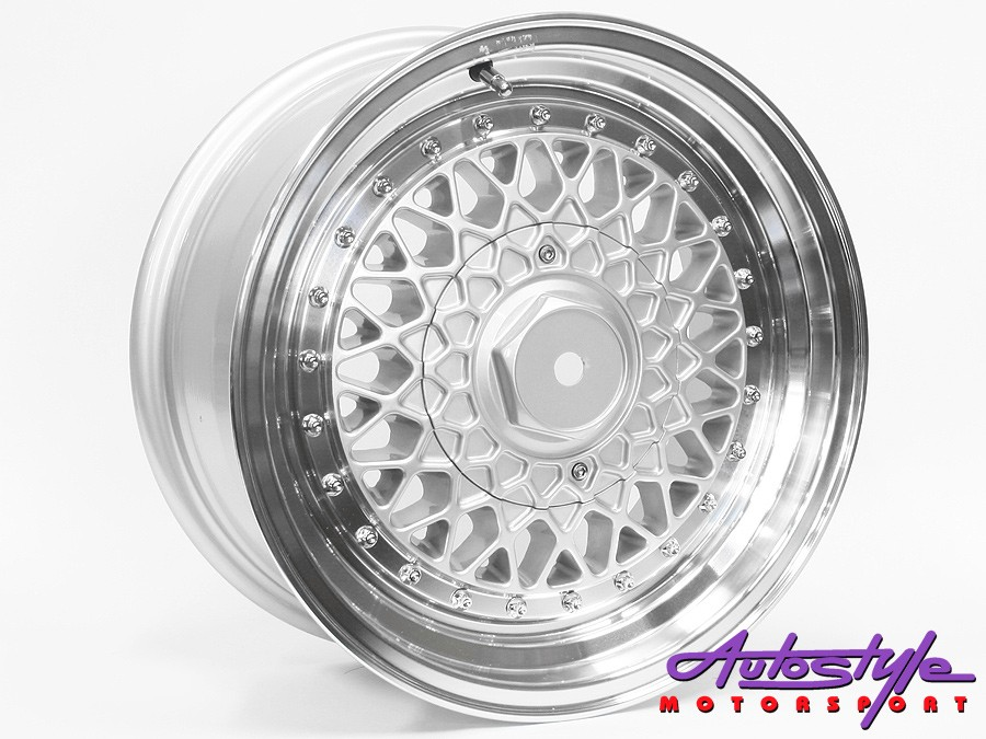 15″ M1759 6/139 Silver Alloy Wheels