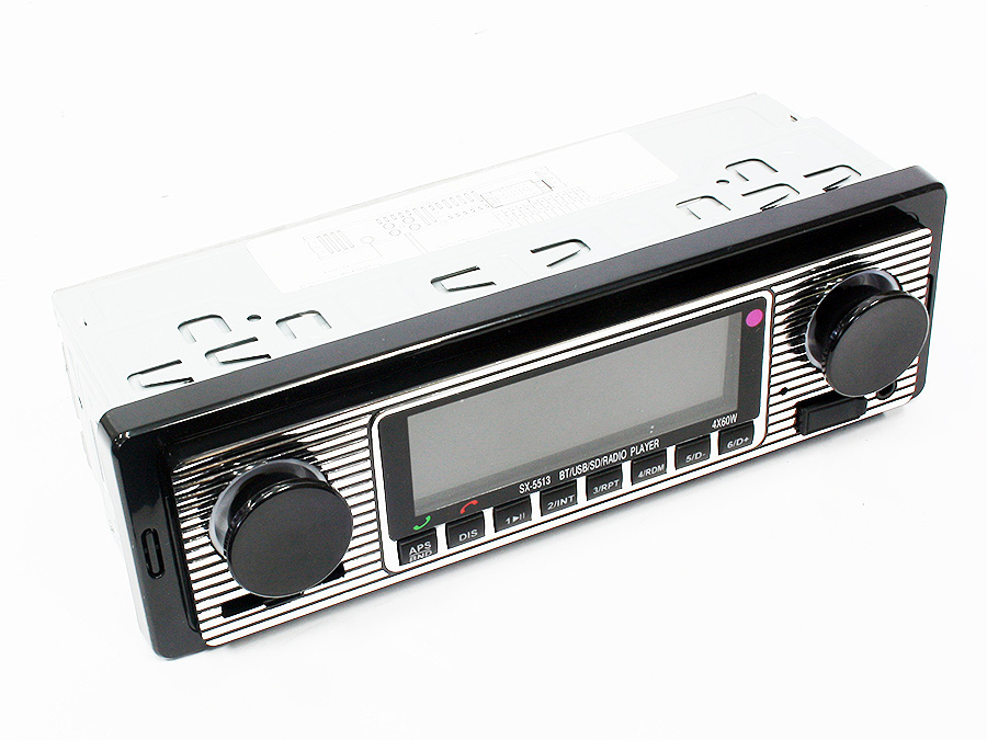Retro Look Mp3/FM/USB Media Player