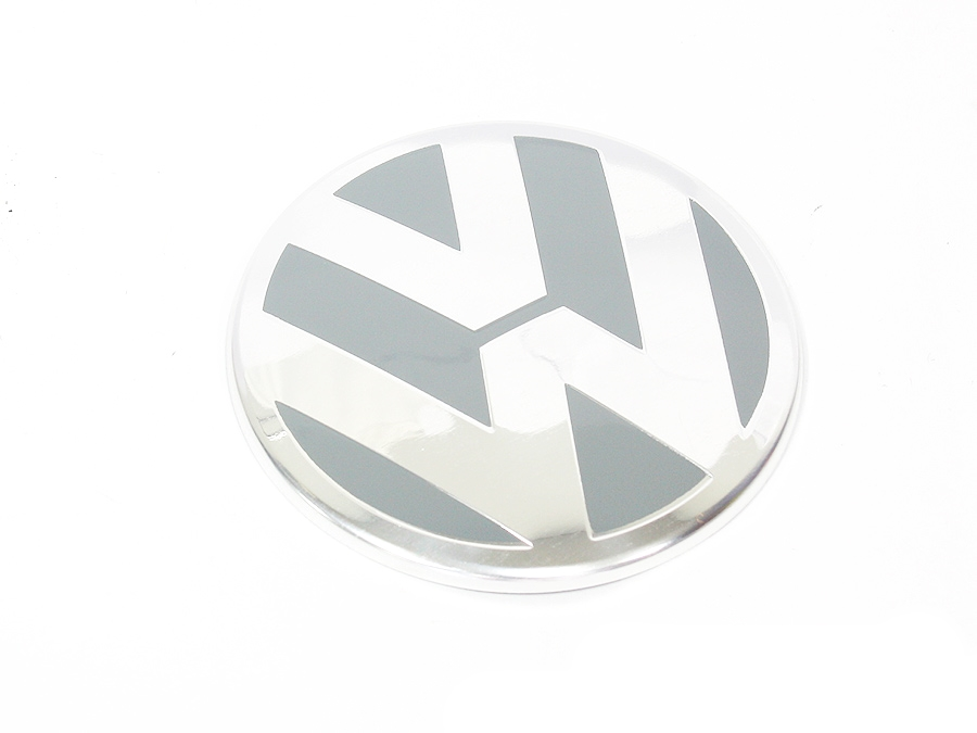 VW Dome Grey Mag Wheel Decals