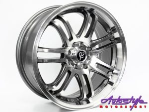 "17"" GR 339 4/100 & 4/114 GMMF Alloy Wheels-0"