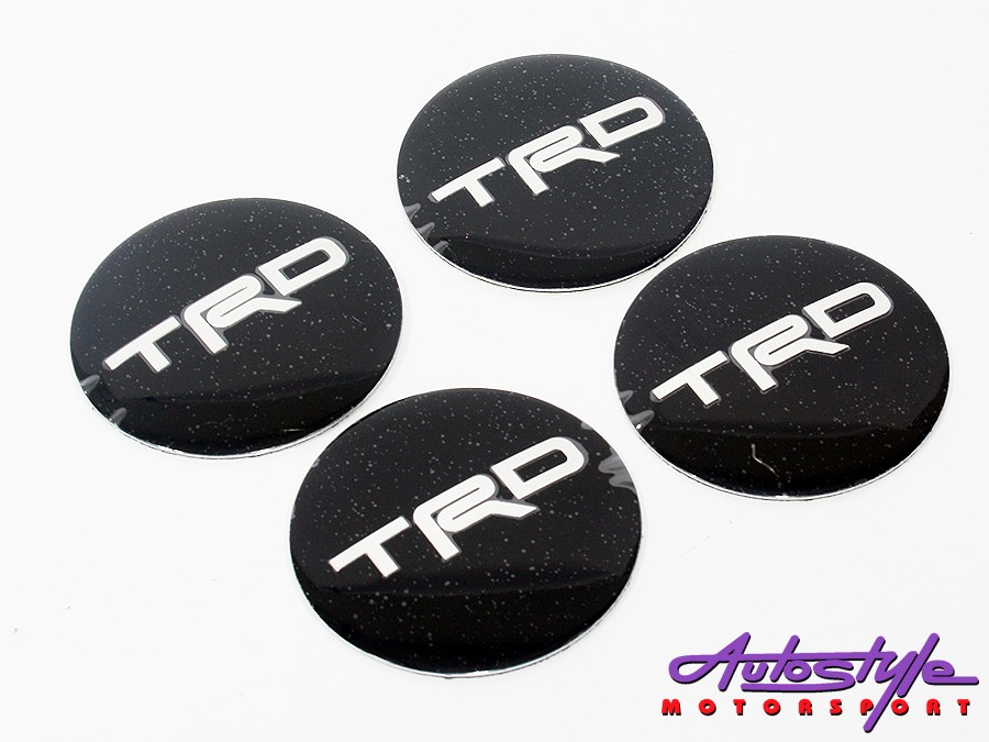Toyota TRD Black Mag Wheel Decals (set of 4)-0
