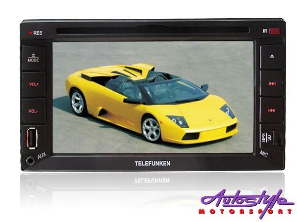Telefunken TICE-663BTGPS Double Din DVD with GPS-0