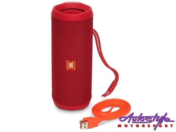 JBL FLIP 4 Red Portable Waterproof Bluetooth Speaker