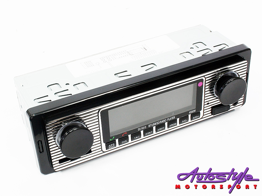Retro Look Mp3/FM/USB Media Player-0