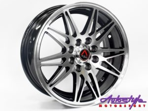 "15"" GR V161 4/100 & 4/108 BKM Alloy Wheels-0"