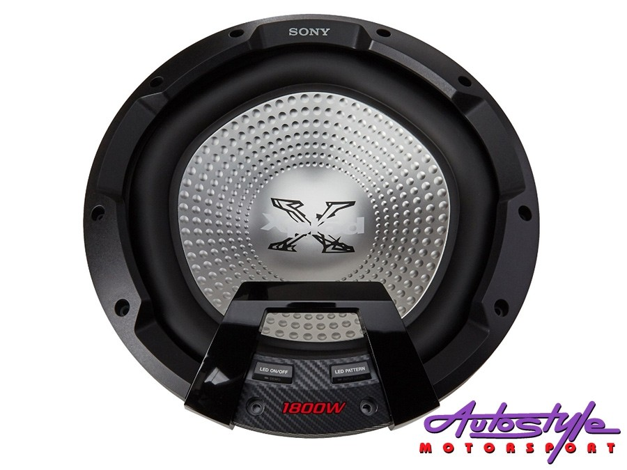 "Sony XS-LEDW12 12"" 1800w Subwoofer with Illumination-28445"