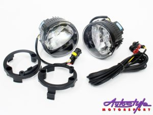 Ford Ranger LED Foglamps with wiring harness-0