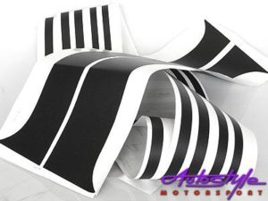 Toyota E8E9 Twincam Blackout Vinyl Sticker Kit-0
