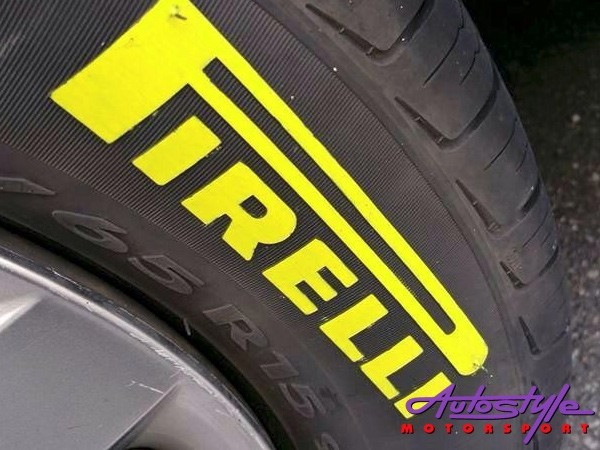 Tire Penz Tyre Paint Vivid Yellow with REFLECT-28812