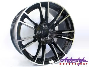 "19"" R-Line 7134 5/120 BKMF Alloy Wheels-0"