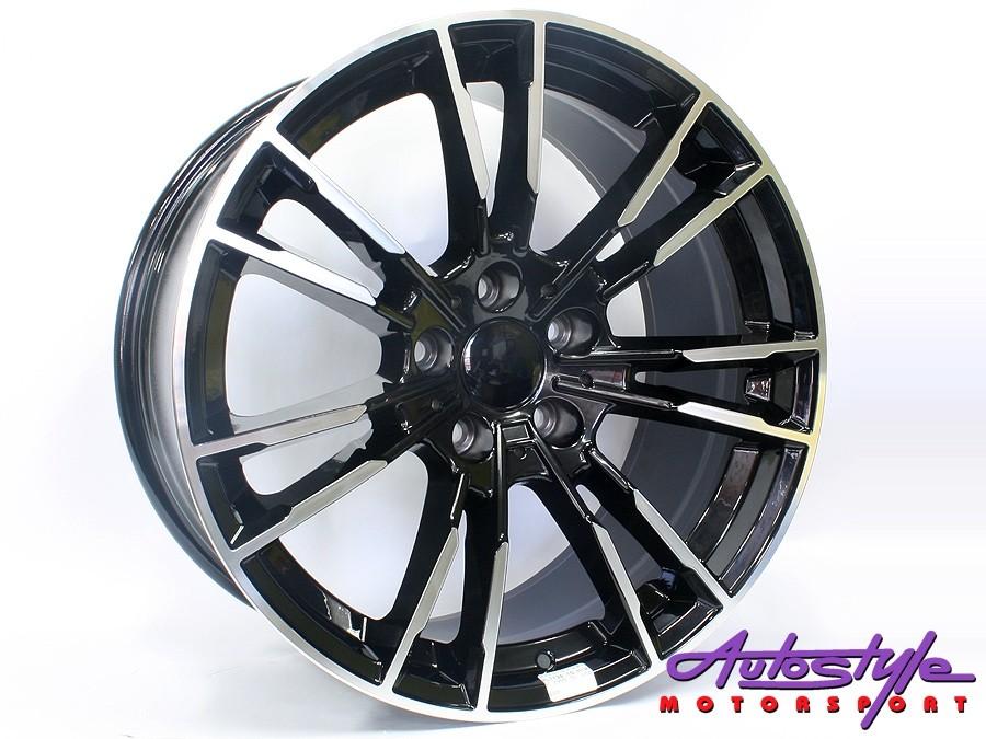 19″ R-Line 7134 5/120 BKMF Alloy Wheels