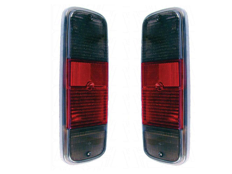VW Classic Bus 72-79 Smoke/Red Tailights (pair)