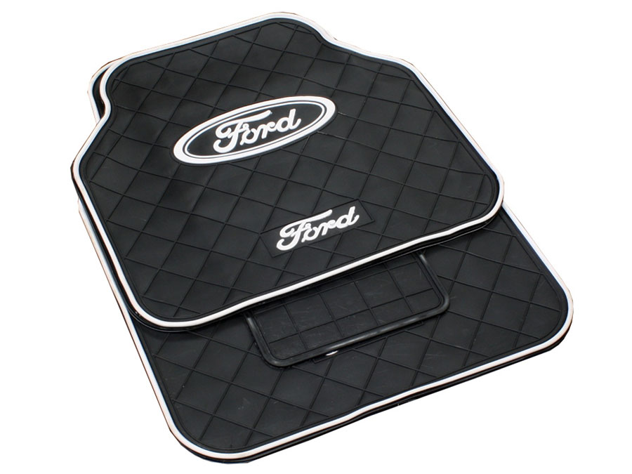 Ford Design Rubber Car Mats