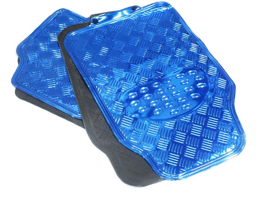 NX Racing Metallic Blue Floor Mats