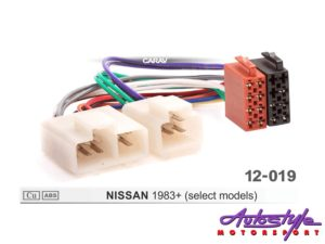 ISO Harness for Nissan 1983+-0