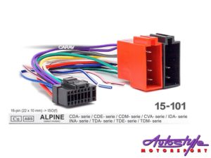 ISO Harness for Alpine Head Units-0