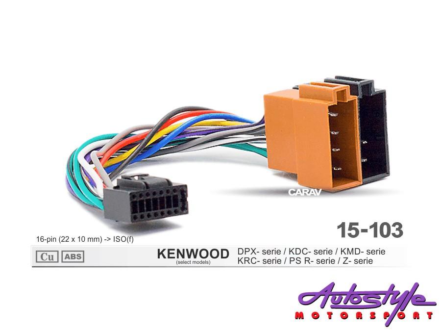 ISO Harness for Kenwood & JVC Models-0