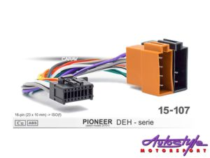ISO Harness for PIONEER DEH-P series-0