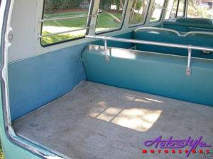 VW Classic 55-67 Campervan Bus Rear Seat Bar-0