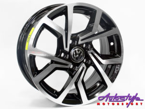 "14"" Axe Clubsport 5/100 BKMF Alloy Wheels-0"